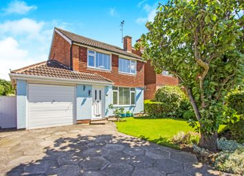 Thumbnail 3 bedroom detached house for sale in Ashby Rise, Great Glen, Leicester