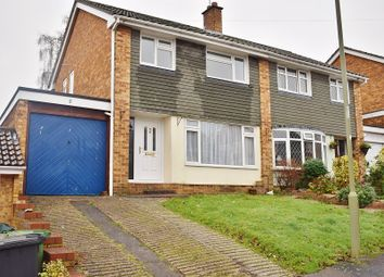 Thumbnail 3 bed semi-detached house to rent in Beresford Close, Chandlers Ford, Eastleigh, Hampshire