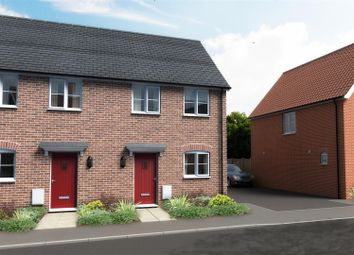 Thumbnail 2 bedroom terraced house for sale in Shotesham Road, Poringland, Norwich