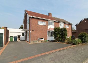 Thumbnail 3 bed semi-detached house for sale in Clarkefields, Bayston Hill, Shrewsbury