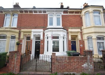 Thumbnail 3 bed terraced house to rent in Beaulieu Road, Portsmouth