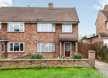 Thumbnail 3 bedroom semi-detached house for sale in Hammers Gate, Chiswell Green, St.Albans