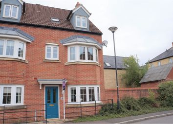 Thumbnail 3 bed town house for sale in Cassini Drive, Swindon