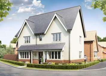 "Thumbnail 4 bedroom detached house for sale in ""Cornell"" at Gimson Crescent, Tadpole Garden Village, Swindon"