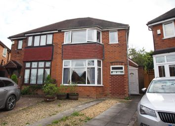 Thumbnail 3 bed semi-detached house for sale in Redlands Close, Solihull