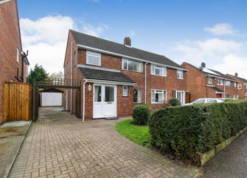 Thumbnail 3 bed semi-detached house for sale in Foxlease, Bedford