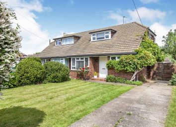 Thumbnail 3 bed semi-detached house for sale in Lindsay Close, Stanwell Village