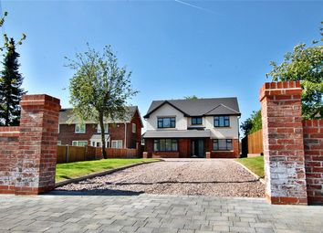 Thumbnail 4 bed detached house for sale in Hesketh Meadow Lane, Lowton, Lancashire