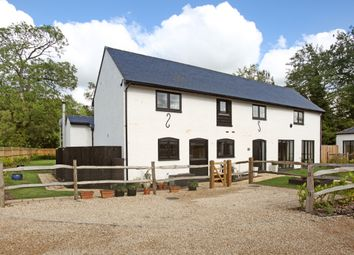 Thumbnail 4 bed barn conversion to rent in Grazeley Green Road, Grazeley, Reading