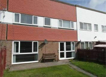 Thumbnail 3 bed terraced house for sale in Loughrigg Avenue, Cramlington, Northumberland
