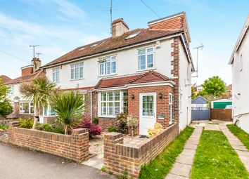 Thumbnail 4 bed semi-detached house for sale in Dale Drive, Brighton