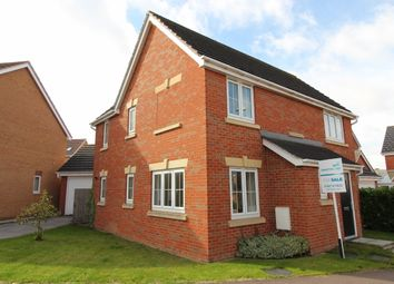 Thumbnail 4 bed detached house for sale in Sunningdale Way, Gainsborough