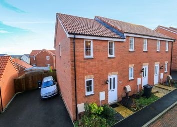 Thumbnail 2 bed terraced house for sale in Post Coach Way, Cranbrook, Exeter, Devon