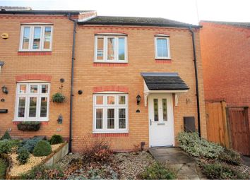 Thumbnail 3 bedroom end terrace house for sale in Goodrich Mews, Dudley