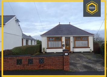 Thumbnail 2 bed detached bungalow for sale in 8 Heol Hen, Five Roads, Llanelli, Carmarthenshire
