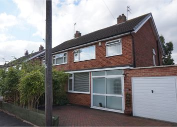Thumbnail 3 bed semi-detached house for sale in Hill View Drive, Cosby, Leicester