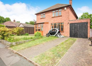 Thumbnail 3 bed detached house for sale in Beaconsfield Avenue, Rugby
