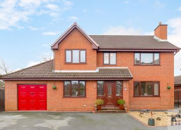 Thumbnail 4 bed detached house for sale in Chelmsford Walk, Leyland