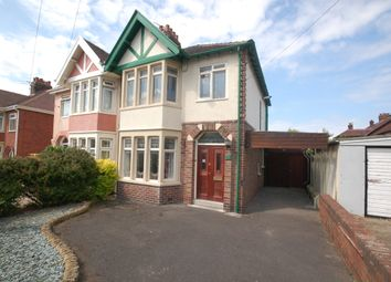 Thumbnail 3 bed semi-detached house for sale in Pierston Avenue, Blackpool