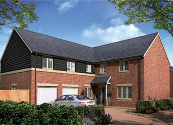 Thumbnail 5 bed detached house for sale in Woburn Drive, Thorney, Peterborough