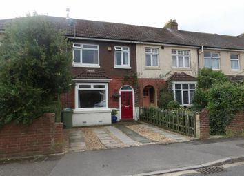 Thumbnail 3 bed terraced house for sale in Central Road, Fareham