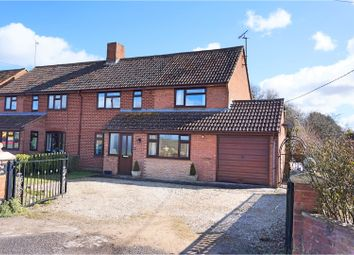 Thumbnail 3 bed semi-detached house for sale in Rushall Road, Pewsey