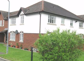 Thumbnail 2 bed flat to rent in Woburn, Glascote, Tamworth, Staffs, Staffordshire