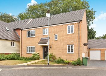 Thumbnail 4 bed detached house for sale in Stanley Road, Brundall, Norwich