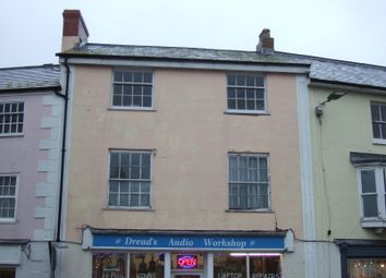 Thumbnail 1 bed flat to rent in Chard Street, Axminster, Devon
