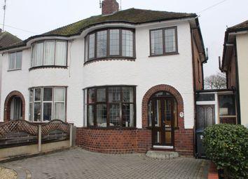 Thumbnail Semi-detached house for sale in Charlbury Crescent, Birmingham