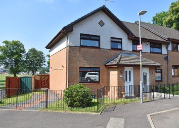 Thumbnail 3 bed terraced house for sale in Poindfauld Terrace, Dumbarton, West Dunbartonshire