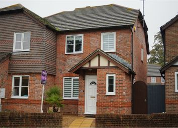 Thumbnail 3 bed terraced house for sale in Tritton Place, Pulborough