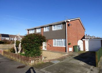 Thumbnail 3 bedroom semi-detached house for sale in Flamingo Crescent, Weston-Super-Mare