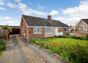 Thumbnail 2 bedroom bungalow for sale in Dart Close, Oadby, Leicester