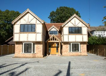 Thumbnail 4 bedroom property for sale in School Road, Kelvedon Hatch, Brentwood, Essex