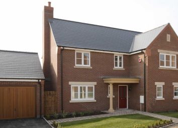 Thumbnail 4 bedroom detached house for sale in Off Loughborough Road, Birstall, Leicester