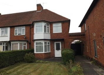Thumbnail 3 bedroom end terrace house for sale in Belchers Lane, Bordesley Green, Birmingham, West Midlands
