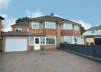 Thumbnail 5 bed semi-detached house for sale in Chamberlain Crescent, Shirley, Solihull