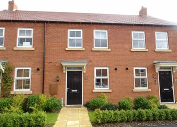Thumbnail 2 bed town house for sale in William Spencer Avenue, Sapcote, Leicester