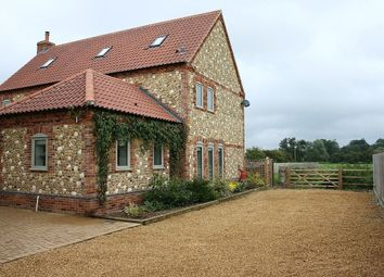 Thumbnail 5 bedroom detached house to rent in West End, Northwold, Thetford