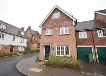 Thumbnail 3 bed end terrace house for sale in Woodlands Way, Hastings
