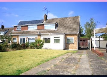 Thumbnail 3 bed semi-detached bungalow for sale in Elmwood Crescent, Armthorpe, Doncaster