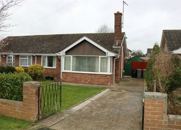 Thumbnail 2 bed semi-detached bungalow for sale in Cecil Close, Bourne, Lincs