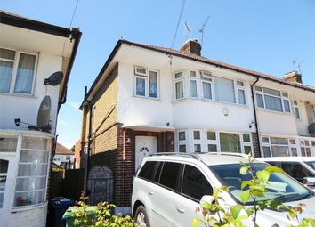 Thumbnail 1 bed maisonette to rent in Rhyl Road, Perivale, Greenford, Greater London