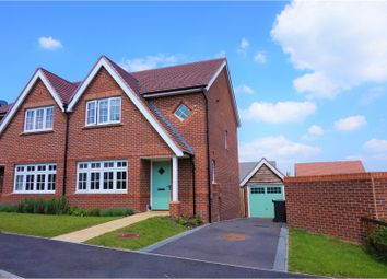Thumbnail 3 bed semi-detached house for sale in Windmill Crescent, East Leake