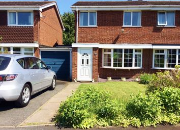 Thumbnail 3 bed semi-detached house for sale in Manor Rise, Arleston, Telford