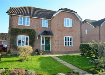 Thumbnail 4 bed detached house for sale in Peacemarsh Farm Close, Gillingham