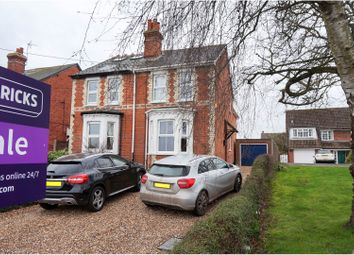Thumbnail 3 bed semi-detached house for sale in Arborfield Road, Shinfield