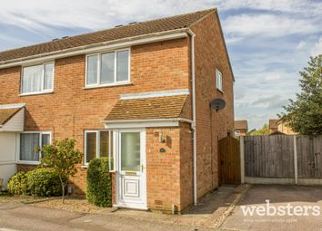 Thumbnail 2 bedroom semi-detached house for sale in Wakehurst Close, Norwich
