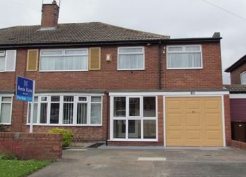 Thumbnail 4 bed semi-detached house for sale in Regent Farm Road, Gosforth, Newcastle Upon Tyne